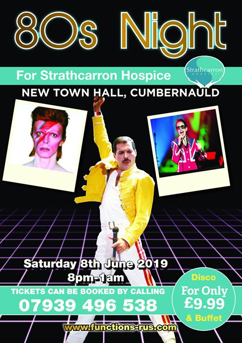 80s Party Night Cumbernauld